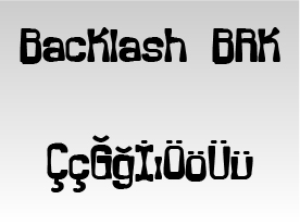 Backlash BRK