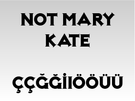 Not Mary Kate