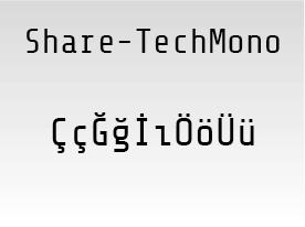 Share-TechMono