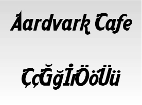 Aardvark Cafe